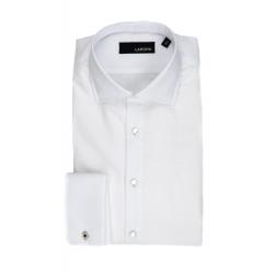 LARDINI Camicia bianca con...