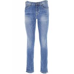 Jacob Cohen jeans sfrangiato