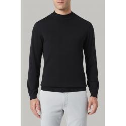 Barba lupetto nero in lana