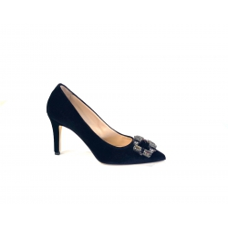 Walter Violet pump in...