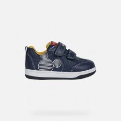 Geox  sneakers bimbo con due strappi