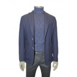 Incotex giacca di lana blu