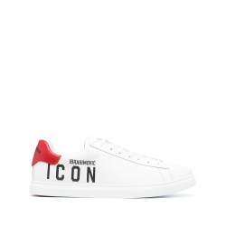 DSQUARED SNEAKERS IN PELLE...