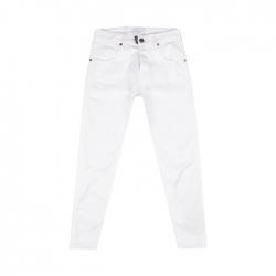 GAELLE JEANS BIANCO