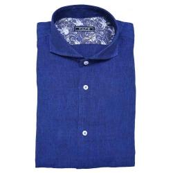 Fefe camicia blu acceso