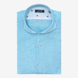 Fefe camicia celeste