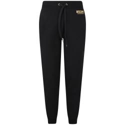 Moschino pantalone tuta nero